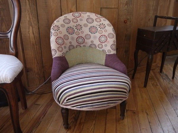 Fauteuil crapaud - Fauteuil crapaud violet ...